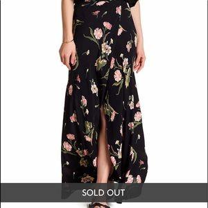 Flynn Skye front wrap skirt